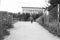 from the catastrophe (Luca Scarpa) Tags: berghain berlino berlin architettura architecture building film bn bw blackandwhite biancoenero