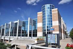 Lansing Center (cmu chem prof) Tags: lansing inghamcounty michigan downtown circularpolarizer michiganavenue lansingcenter conventioncenter