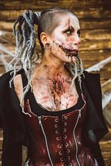 IikWeek (mrksaari) Tags: d750 2470mmf28g zombie parade amusement park iikweek linnanmki helsinki finland gore horror terror scary blood