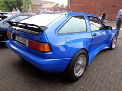 VW Scirocco 2 (911gt2rs) Tags: treffen meeting show event rieger widebody tuning bodykit bbs blau blue coupe mk2 verbreitert breit 80s