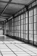 (Sirin's World) Tags: monochrome city window windows light shadow corridor black white budapest város ablak ablakok fény árnyék folyosó fekete fehér building