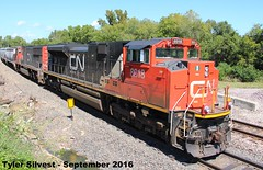 CN 8918 (SD70M-2) (KansasScanner) Tags: shawnee zarah kansas bnsf railroad train