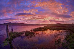 Never had a dream come true (pauldunn52) Tags: sunrise north uist loch host scotland outer hebrides