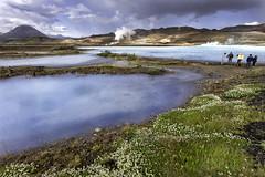 La laguna azul de Bjarnarflag (aarrss) Tags: islandia norurlandeystra is