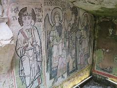 Albania - Durres - Amphitheatre - Chapel - Mosaic (JulesFoto) Tags: albania durres romanamphitheatre chapel mosaic