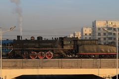 I_B_IMG_9144 (florian_grupp) Tags: asia china steam train railway railroad fuxin liaoning sy coal mine 282 mikado steamlocomotive locomotive