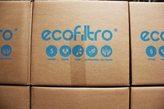 Ecofiltro boxes - Charlie on Travel (CharlieOnTravel) Tags: ecofiltro guatemala tour sustainable antigua water filter pots eco