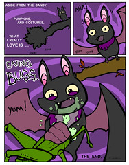 Bat-o-ween, pg 4 of 4 (Fox Mime) Tags: halloween minicomic