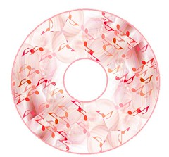 Music CD label (Charlotte Clarke Geier) Tags: computer print crafts digitalart computercrafts