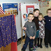 Indian Lake first graders at their voting booth. Photo: Kelly Walker