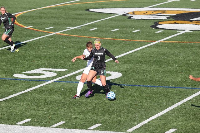Junior Chelsea Grace in the first half of the NCAA Division II East Region Tournament against The College of Saint Rose