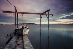 GdM (Pierre NATOLI) Tags: longexposure france 30 port canon harbor pier boat fisherman dof sete oyster meze ponton languedocroussillon hrault huitres thau bouzigues