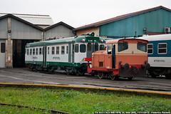 Roll-out domenicale (Elmeon) Tags: train railway bahn treno fs trenitalia lenord iseo automotrice aln668 trenord