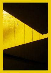 (Emily-Isa Baker) Tags: light colour eye yellow shadows bright shapes southbank catching borders bold