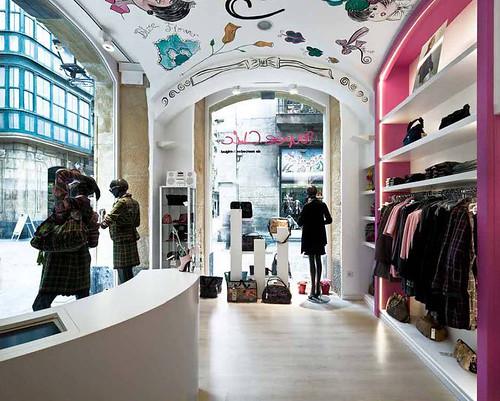reforma interior de local comercial para tienda Poupee Chic, Mercedes de Miguel - Bilbao 12