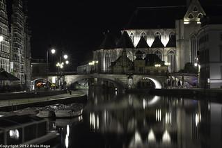 Graslei / Gent / Belgie