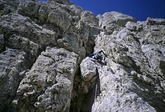 SIB_01551 (Antonio Palermi) Tags: alpinismo vettore montisibillini pizzodeldiavolo spigolobafile direttissimaalcolletto