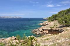 Cap de Pinar (bazylek100) Tags: sea españa beach coast spain rocks mediterranean hiking rocky hike mallorca majorca balearicislands majorka hiszpania alcúdia capdespinar capdepinar