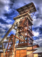 mine (Louis Rafenomanjato) Tags: france photo mine hdr gard metiers anciens