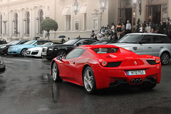 Closed convertibles (Santapanter Photography) Tags: red sports car sport spider c ghost continental convertible super ferrari spyder montecarlo monaco exotic rolls carlo monte gt audi luxury supercar royce bentley v10 sportscar r8 luxurycar gtc sportcar 458