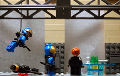 A Foul Task ( Spencer) Tags: trooper asia lego pan spencer darkwater cqc purge brickarms