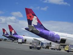 TAILS (PINOY PHOTOGRAPHER) Tags: usa america hawaii airport oahu aircraft airline hawaiian honolulu
