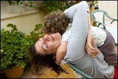 Hug (Sapient Iguana) Tags: boy love hugging hug child mother motherhood motherandchild motherandson lucianlanteri