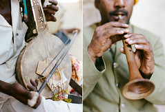 The Musicians (A Jacona) Tags: musician music india film iso320 rpl contax645 c41 noritsu kodakportra400 80mmf2