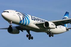 Egyptair - SU-GDV (Andrew_Simpson) Tags: africa uk blue plane airplane heathrow aircraft egypt aeroplane 330 landing airbus arrive ms arrival a330 msr lhr heathrowairport arriving londonheathrow 330300 staralliance egll egyptair a330300 londonheathrowairport fwwky ms777 sugdv