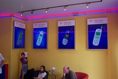 Interior Retail Light Box Signage