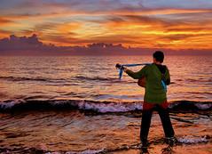 Una canzone per il mare (Sante sea) Tags: sea italy music video italia mare musica circeo simongarfunkel thesoundofsilence