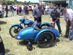 Triumph / Tillbrook outfit at Ross M/C Rally 2012. (georgedulcot) Tags: triumph thunderbird 6t