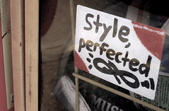 Style, perfected (-Curly-) Tags: streetart art graffiti sticker stickerart curly