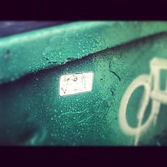 dumpster divin (croissantthief) Tags: seattle streetart graffiti stickerart graf stickers slap slaps slaptag seattlegraffiti smokinferret