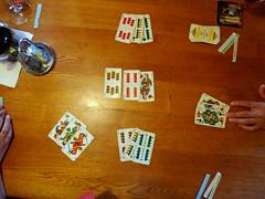 such a rare chance! (ulysses68) Tags: italy mountain italia hiking playingcards cardgame carte sdtirol rifugio sudtirolo cartedagioco plattkofelhtte rifugiosassopiatto
