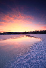 30 Below (Wolfhorn) Tags: winter sunset snow cold ice nature 30 alaska wilderness reallycold woodriver