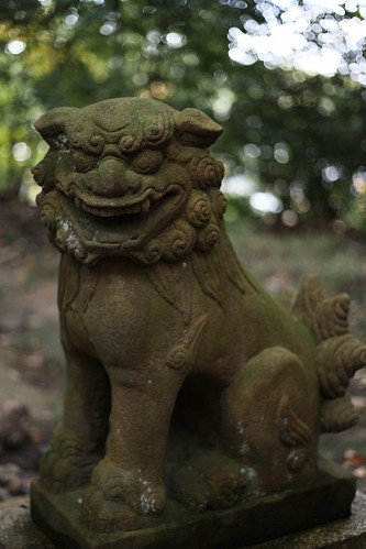 狛犬-An agyō komainu