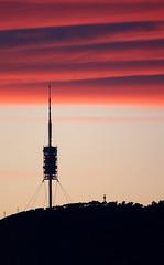 Capvespre (Jordi Cucurull) Tags: orange tower silhouette clouds atardecer torre nubes silueta naranja communications taronja telecomunicaciones nvols comunicaciones telecommunications collserola torredecollserola capvespre telecomunicacions comunicacions