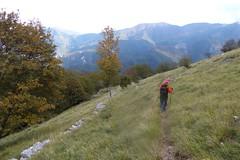 Discesa verso Fornovolasco (Emanuele Lotti) Tags: park italy parco costa mountain montagne trekking italia 25 tuscany toscana alpi montagna apuane 2012 monti ottobre valli foce escursionismo fornovolasco pulita