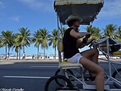 Copacabana_Rio de Janeiro (FM Carvalho) Tags: brazil rio brasil riodejaneiro sony cybershot copacabana sonycybershot brsil pedalando quadriciclo hx9v sonyhx9v