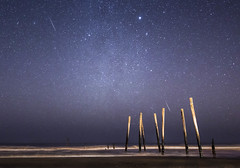 Geminid Meteors Over Ocean City (Jay Cassario) Tags: shower newjersey nj 28 oceancity oc meteor lightroom geminid 2470mm d800e nikonfacebook