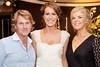 Designer Patrick Casey, Mary Lee, Catwalk Model Agency and MC Marietta Doran pictured at An Evening of Timeless Elegance at Hotel Meyrick. Photo Martina Regan