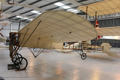 G-AANG - 1909 build Bleriot Monoplane, part of the Shuttleworth Collection at Old Warden (egcc) Tags: 14 anzani bapc3 bleriot bleriotxi collection egth gaang monoplane museum oldwarden shuttleworth