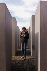 (Fedor Dzis) Tags:    germany berlin monument    foundation memorial murdered jews europe