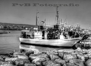 Fishing boat in the harbor of Paphos