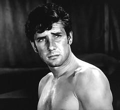 "Robert Fuller in ""Laramie."" (stalnakerjack) Tags: hollywood 1960s actors television tvwesterns westerns robertfuller laramie"