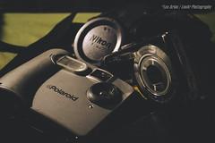 Kodak, Nikon & Polaroid (Lex Arias / LeoAr Photography) Tags: 2016 artistic barquisimeto camara camera iglexariasphotos kodak leoarphotography lexarias nikon nikond3100 perro polaroid sport venezuela vintage