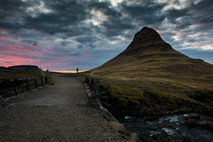 The Lone Photographer, Kirkjufell, Iceland. (cristiancoser) Tags: iceland waterfall landscape travel clouds amazing breathtaking flickr today