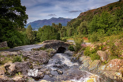 Ashness Bridge (David Sanderson Photography) Tags: lake district lakes thelakedistrict bridge stunning countryside england cumbria river viewpoint skiddaw mountain rocks wall valley beautiful ashnessbridge ashness derwentwater keswick packhorse outdoor landscape