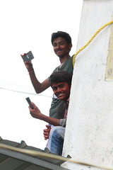 Nirav Patel (nau students' photo critic forum) Tags: niravpatel nau 201617 dahi handi spectators clicking photos festival janmastami best